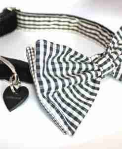 Bing the Bow Wow Wow Black and White Bow Tie