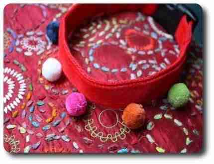 The Jester Dog Collar for Special Occasions!