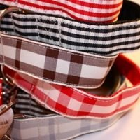 Scrufts' Checked Dog Collars and Leads