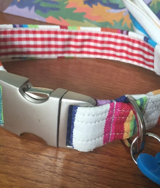 Scrufts' Hello Sailor Bow Wow Wow Tie Dog Collar