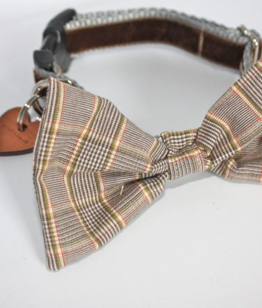 Scrufts' Mini Astaire Bow Wow Wow Tie Dog Collar
