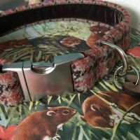 Scrufts' Freddie Tweed Velvet Lined Dog Collar