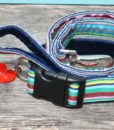 Scrufts Striped Dog Collar and Lead Titch