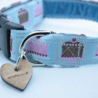 Scrufts' Happy Returns Dog Collar in Sky