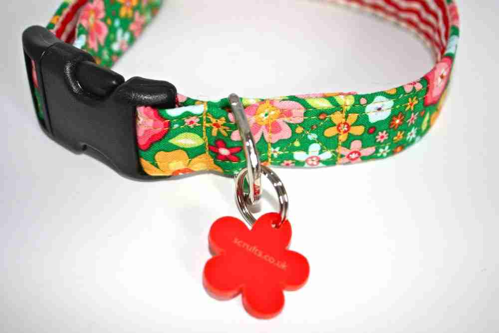 Scrufts Tansy FLoral Dog Collar