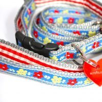 Scrufts' Mini Heidi Dog Collar and Lead for Puppies and Small Dogs