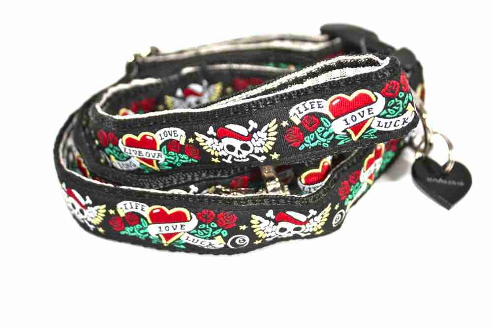 Captain Jack Dog Collar and Lead