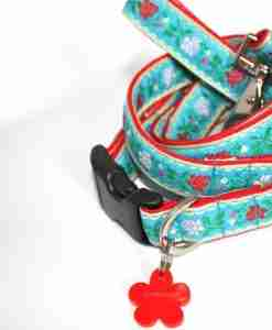 Scrufts' Eidelweiss Dog Collar and Lead