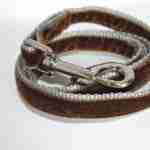 Scrufts' Minis Brown Velvet Lead
