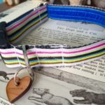 Scrufts' Neapolitan Striped Dog Collar