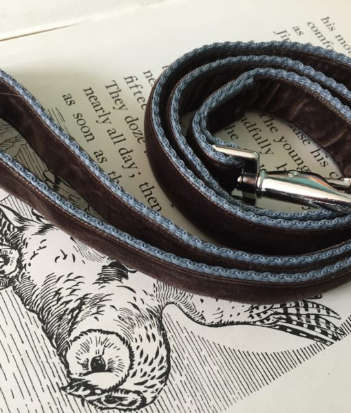 Scrufts' Astaire Velvet Bow Wow Wow Tie Dog Collar
