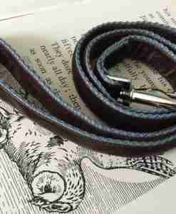 Scrufts Astaire Brown Velvet Dog Lead