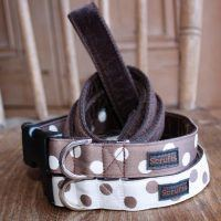 Scrufts Cadbury Polka Dot Dog Collar