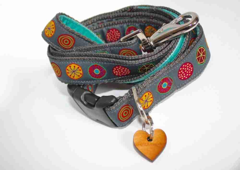 Scrufts' Oska Dog Collar and Lead