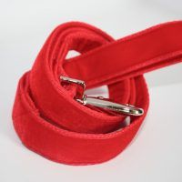 Scrufts' Red Velvet Dog Lead