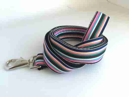 Scrufts' Hove Striped Dog Lead