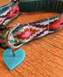 Scrufts Nevada Velvet Lined Dog Collar