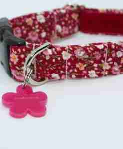 Scrufts' Bramber Floral Liberty Cord Velvet Lined Dog Collar