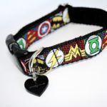 Scrufts' My Hero Velvet Lined Dog Collar
