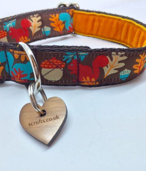 Scrufts' Tufty Squirrel Dog Collar