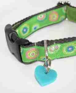 Scrufts' Lettuce Velvet Lined Dog Collar