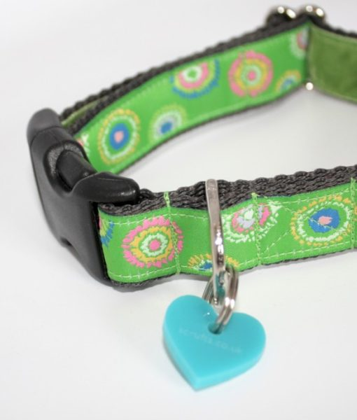 Scrufts' Lettuce Velvet Lined Dog Collar
