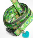 Scrufts' Lettuce Velvet Lined Dog Collar and Lead