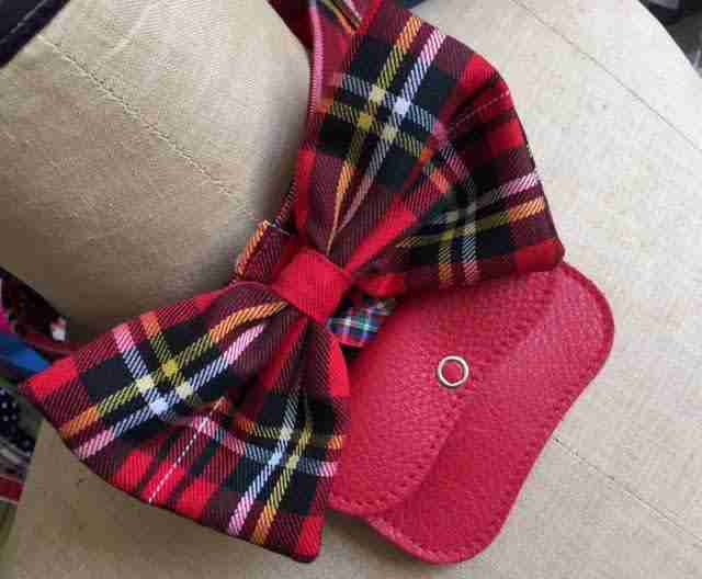 Scrufts' Fergus Tartan Bow Tie Wedding Collar