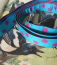 Scrufts' Turqoise Tropical Dotty Dog Lead