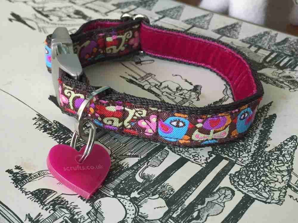 Scrufts' Little Birdie Collar and Lead for Puppies or Small Dogs