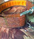Scrufts Bruce Harris Tweed Velvet Lined Dog Collar