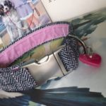 Scrufts' Peony Velvet Lined Tweed Dog Collar