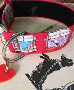 Scrufts' Campie Velvet Lined Greyhound Collar