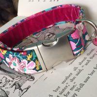 Scrufts' Blossom Velvet Lined Dog Collar