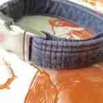 Scrufts' Marple Grey Heather Tweed Velvet Lined Fog Collar