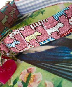 Scrufts' L'ittle Scruft Dog Collar in Pink