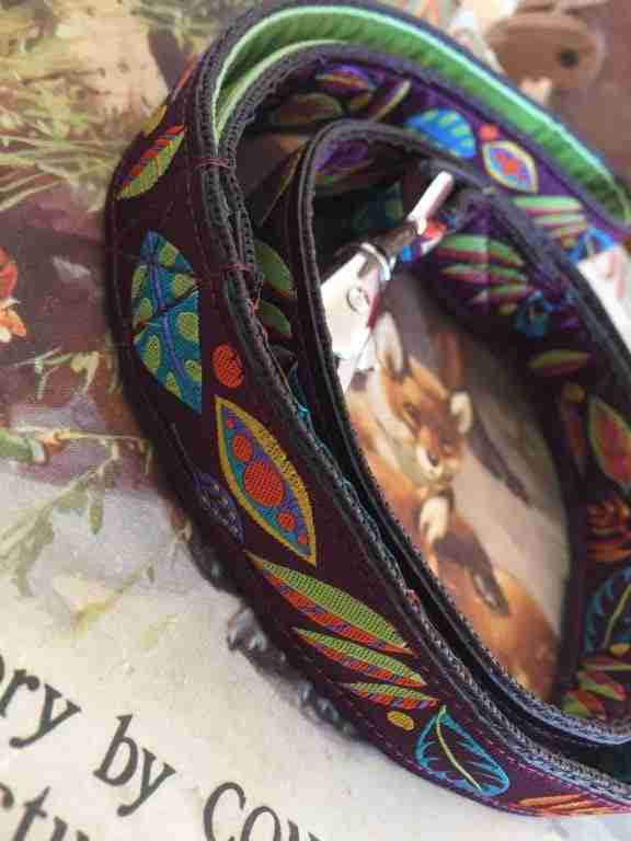 Scrufts' Woody Velvet Lined Dog Lead