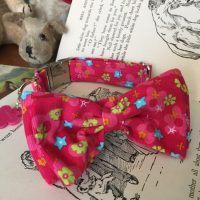 Scrufts' Mabel's Fancy Bow Tie Dog Collar
