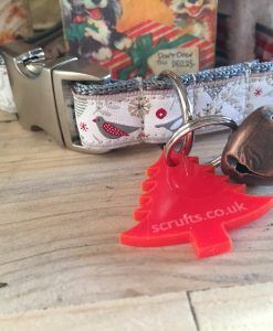Scrufts' Mini Christmas Robin LIMITED EDITION Dog Collar