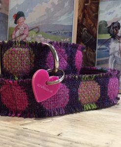 Scrufts' Fabulous Ffion Velvet Lined Welsh Tweed Dog
