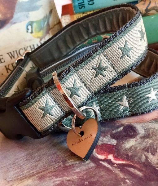 Scrufts' Winter Sirius Starry Dog Collar