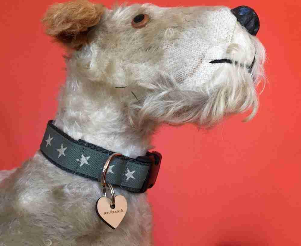 Scrufts' Winter Sirius Starry Dog Collar