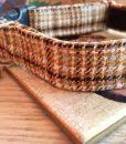 Scrufts' Sherlock Tweed Velvet Lined Dog Collar