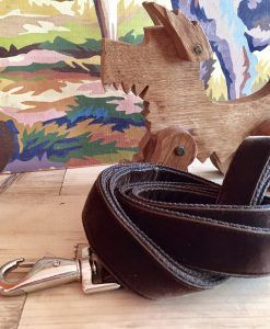 Scrufts' Watson Brown Velvet Dog Lead