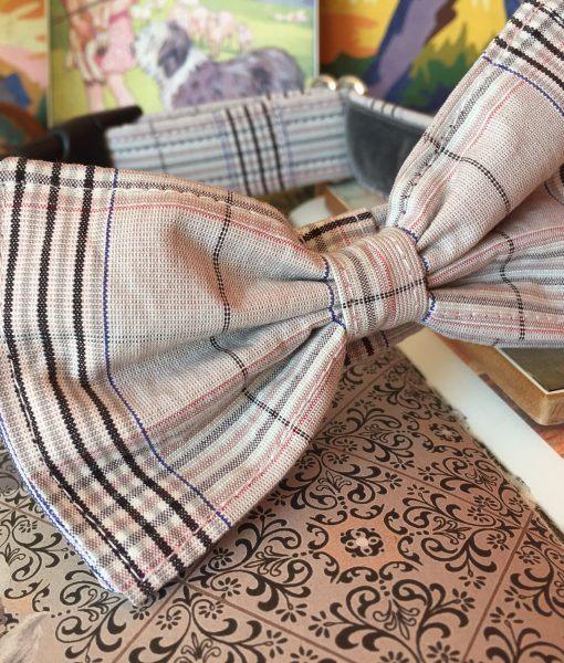 Scrufts' Celia Bow Wow Wow Tie Dog Collar