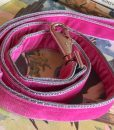 Scrufts' Petal Summer Pink Velvet Dog Lead