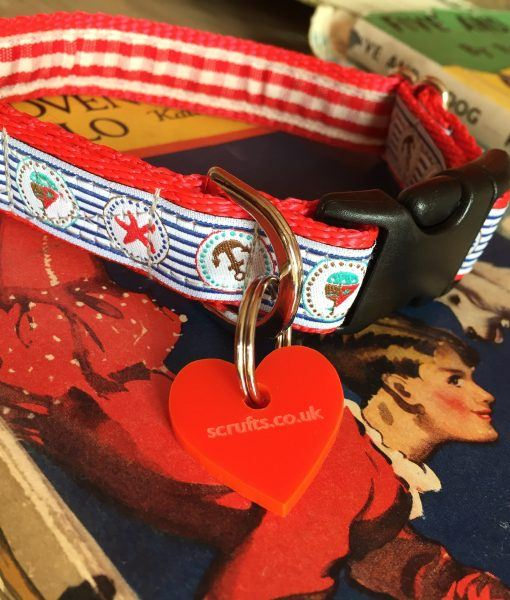 Scrufts' Little Cabin Boy Dog Collar and Lead for Puppies and Small Breeds