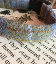 Scrufts' Spitfire Velvet Lined Harris Tweed Dog Collar