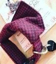 Handmade Tweed Dog Collar and Slip On Bandana