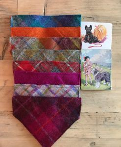 Harris Tweed Slip-on Bandanas